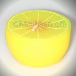Zitronen Kerze