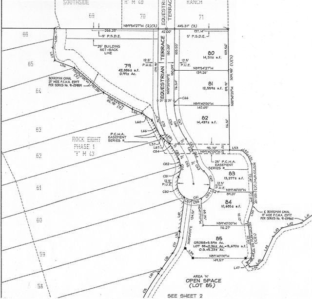 Lot 83 Equestrian Estates Information / McKim Homes, Inc.