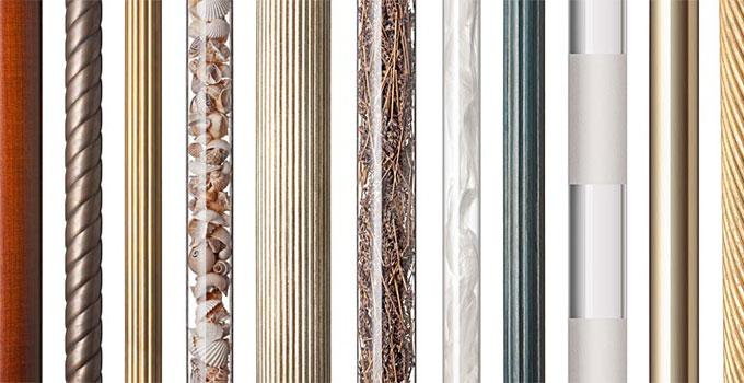 bespoke curtain poles traditional modern british curtain poles