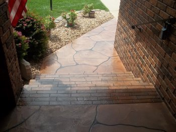 Acrylic Overlays/Decorative Concrete