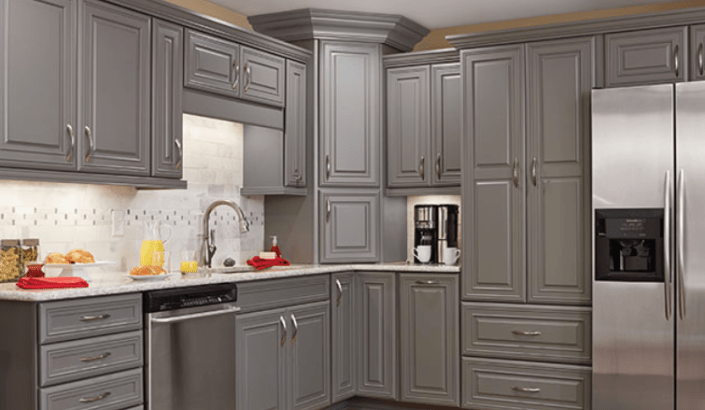 kitchens on a budget color ideas for kitchen cabinet designs by marchand creative | new ...