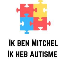 Ik ben Mitchel Ik heb autisme