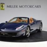Pre Owned 2013 Ferrari 458 Spider For Sale 195 900 Mclaren Greenwich Stock 4665