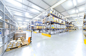 McLaren Sports Homes Warehouse