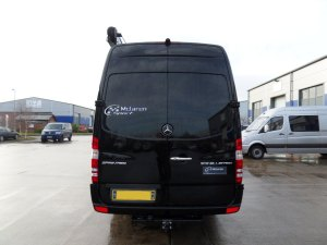 519 Mercedes Sprinter black rear