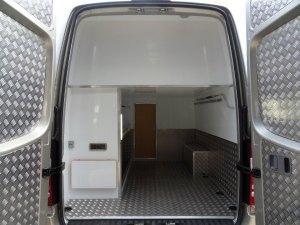 Sprinter sporthome custom storage