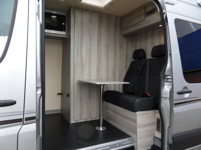 MX Day van seating