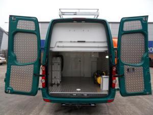 VW Crafter Sporthome rear storage