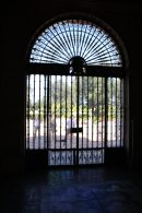 Casa Grande's front door (from the inside)