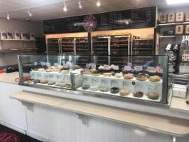 Kane's Donuts display case