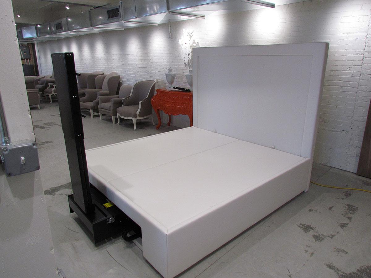 Custom Platform Bed Made To Hold Custom TV Lift