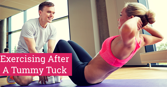 Exercising After A Tummy Tuck