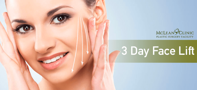 3-Day Face Lift Plastic Surgery