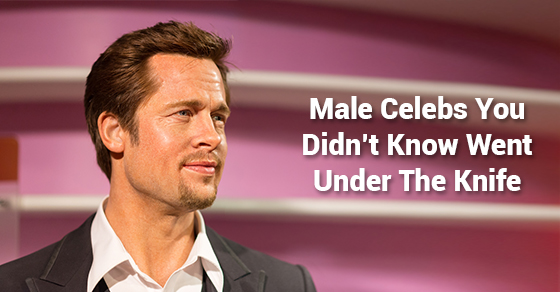 Male Celebs You Didn't Know Went Under The Knife