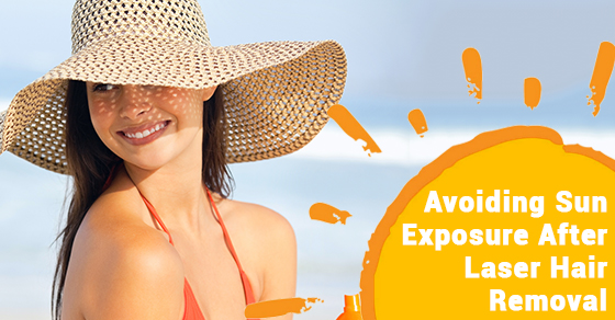 Avoiding Sun Exposure After Laser Hair Removal