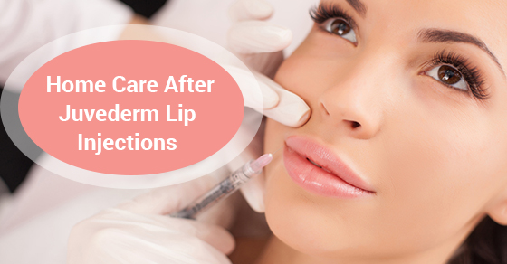 Home Care After Juvederm Lip Injections | McLean Clinic