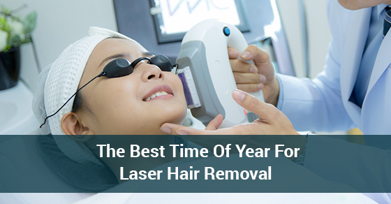 The Best Time Of Year For Laser Hair Removal