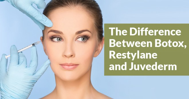 The Difference Between Botox, Restylane and Juvederm