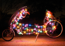 Well lite bicycle