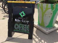 Bike Co-op Sign Board