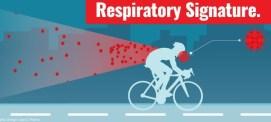 Covid19 respiratory signature while riding
