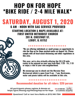 Hope-on-for-hope ride details