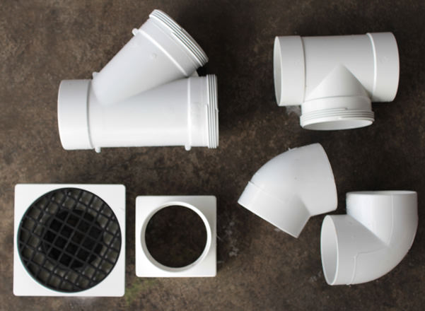 Stormwater pipe fittings  Sweet puff glass pipe
