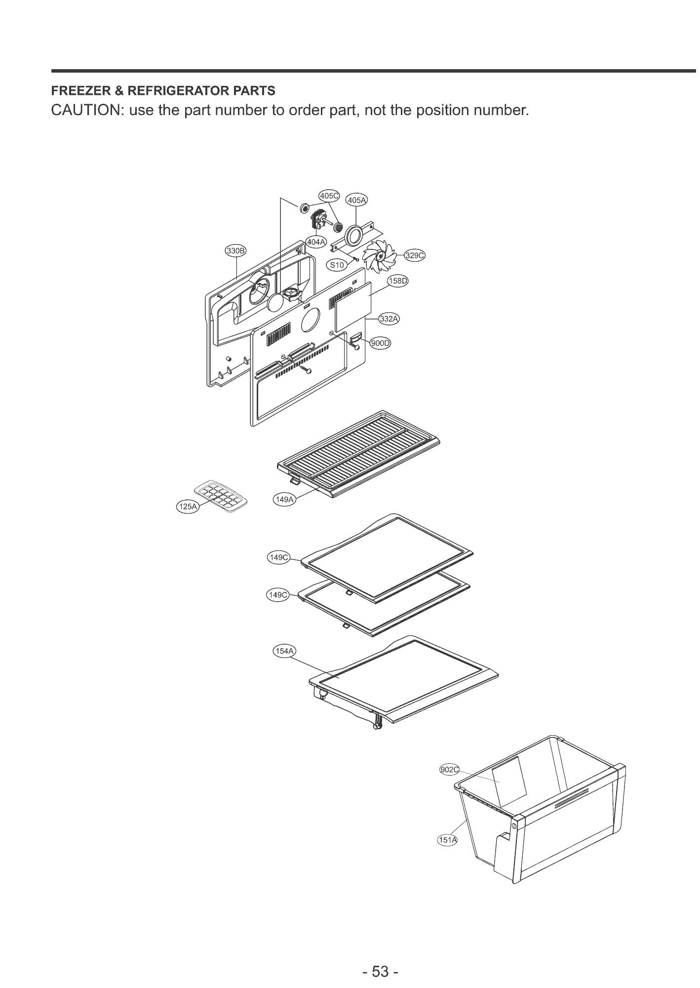 34 Lg Refrigerator Parts Diagram