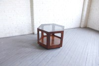SOLD Mid century modern hexagon coffee table by Lane ...