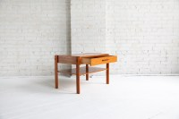SOLD Mid century modern small danish side/coffee table ...