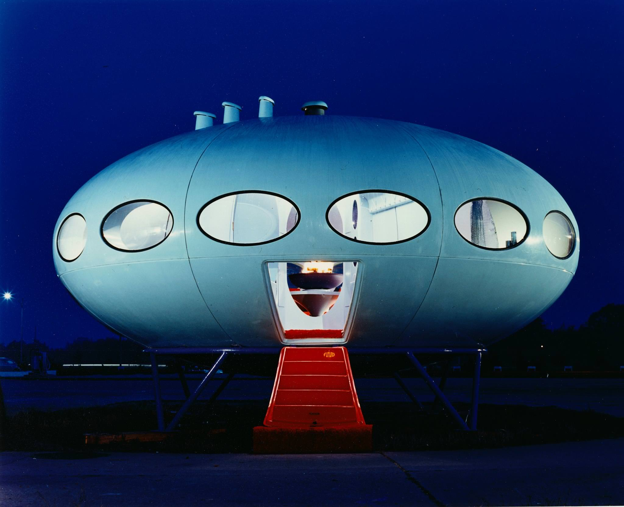 DC Hilliers MCM Daily  The Futuro House