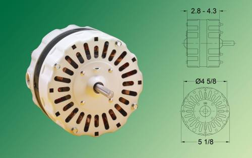 small resolution of four pole psc motors