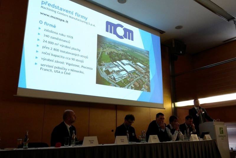 MCM S.p.A.   Macmatic presents MCM manufacturing solutions