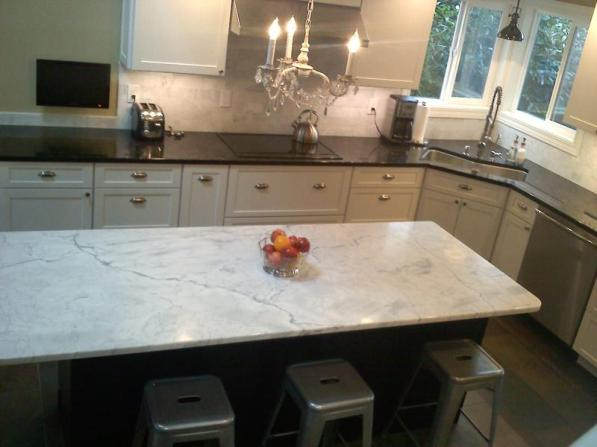 Marble Island Countertop