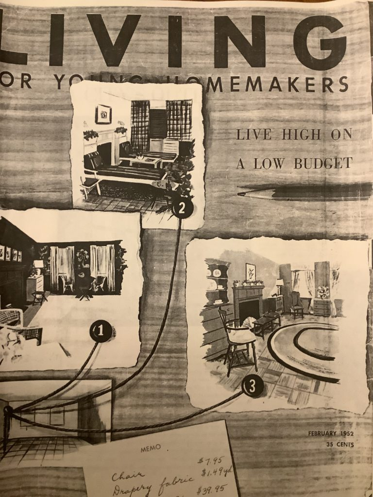 Living-for-Young-Homemakers-1952-02-Owls-and-Oaks-feature-01