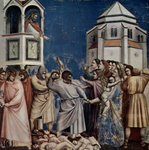 Picture of the Massacre of the Innocents--4th Day of Christmas