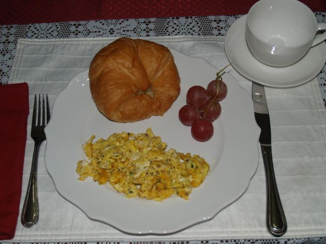 French Scrambled Eggs at McMullen House Bed & Breakfast