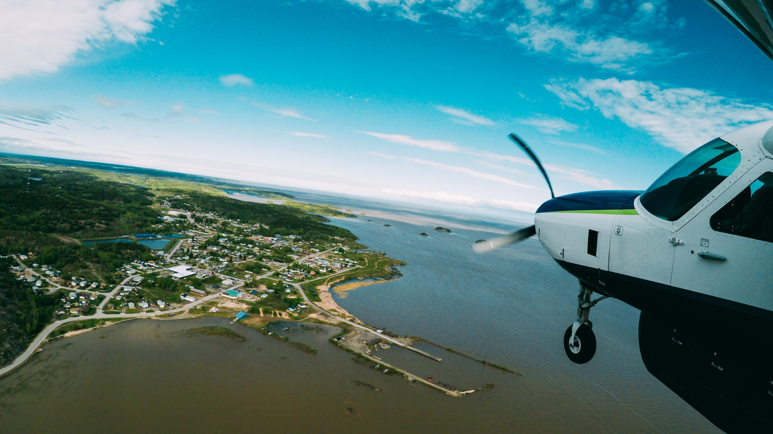 XCL flying to Fort Chipewyan