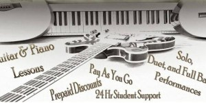 home music lessons for guitar and piano