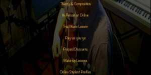 Music lessons Rates
