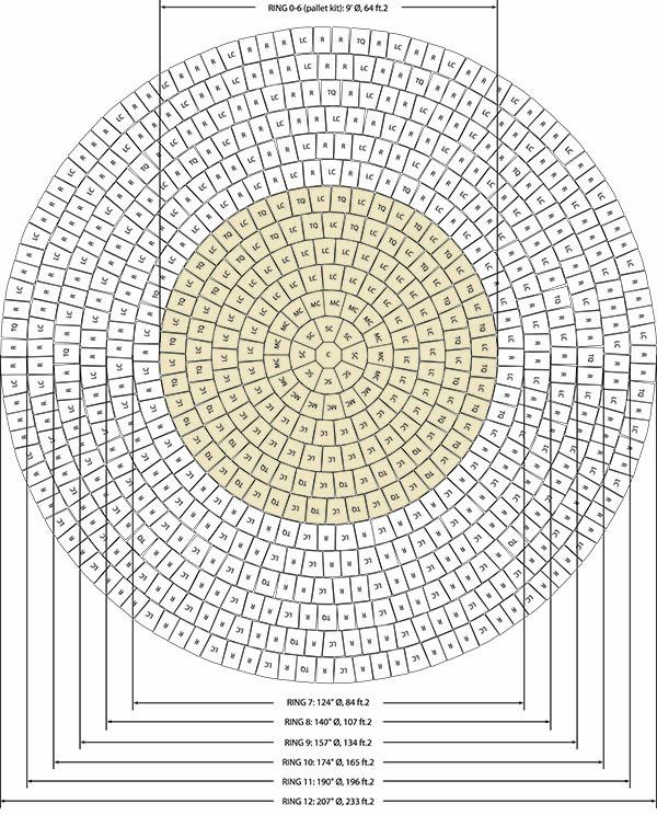 mcnear interlocking paver circle kits