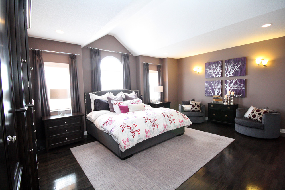 Master Bedroom Bed Styling