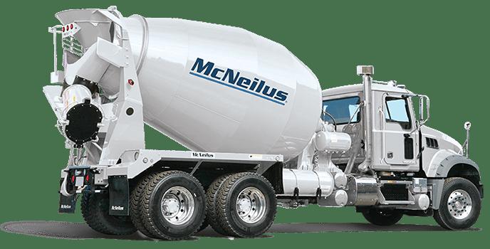 concrete mixers mcneilus