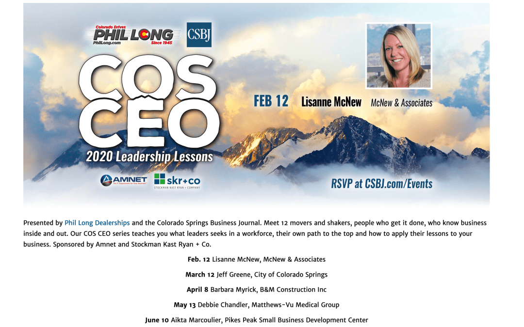 COS CEO – 2020 Leadership Lessons