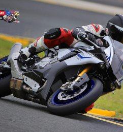 mark mcveigh on the 2015 yamaha yzf r1m at sydney motorsports park [ 1920 x 1388 Pixel ]