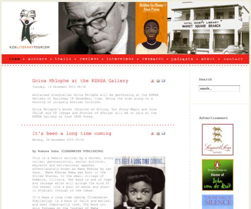 New design for KZN Literary Tourism