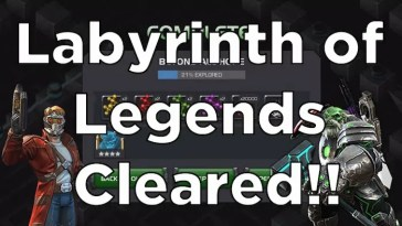 Labyrinth of Legends Path 1 (LOL Easy Path) Full Run