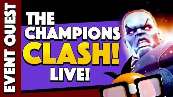 The Champion's clash