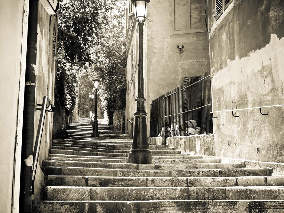 Un escalier corse