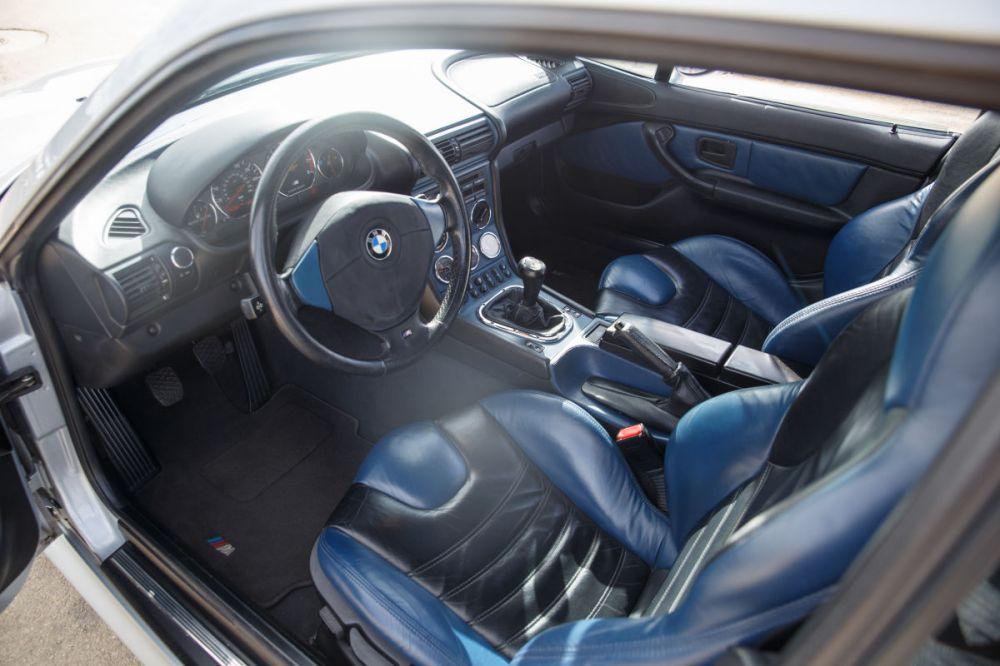 medium resolution of 1999 bmw m coupe estoril blue interior